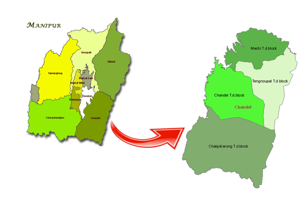 Map of Chandel