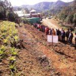 Micro irrigation at Farm